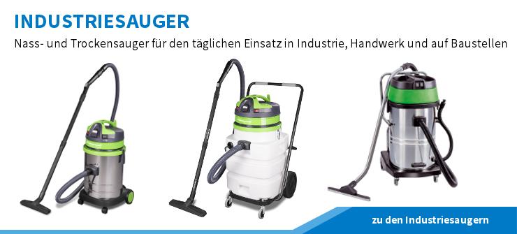 Industriesauger, Nass- und Trockensauger für den täglichen Einsatz in Handwerk, Industrie und auf der Baustelle