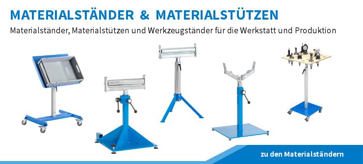 Materialstaender-Materialstuetzen-Werkzeugstaender-Rollenboecke