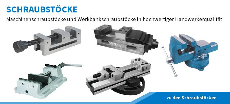 Schraubstöcke, Maschinenschraubstöcke, Hydraulikspanner, NC-Schraubstöcke und Mehrachsenschraubstöcke für eine sichere Werkstückspannung