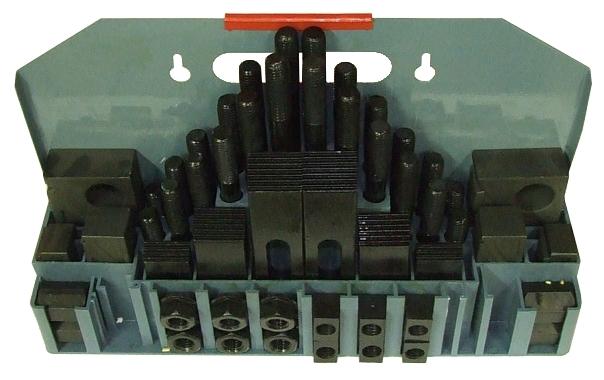 M16 teilig Aufspannset 58 M12 M14 M20 für Tische mit T-Nuten M10 M8