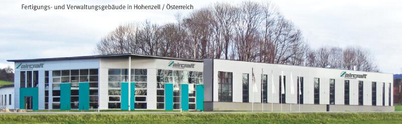 AIRCRAFT Drucklufttechnik - Verwaltung und Fertigung