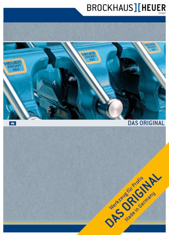 Brockhaus-HEUER Qualitäts-Schraubstöcke - Made in Germany