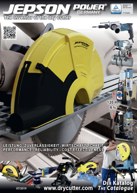 JEPSON Power Drycutter / Kaltkreissägen