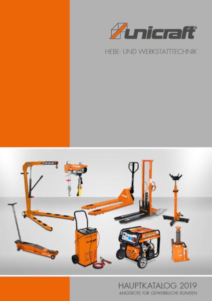 UNICRAFT Hebetechnik und Werkstatttechnik